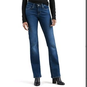 Levi's curvy boot cut 529